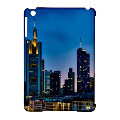 Frankfurt Germany Panorama City Apple Ipad Mini Hardshell Case (compatible With Smart Cover) by Simbadda
