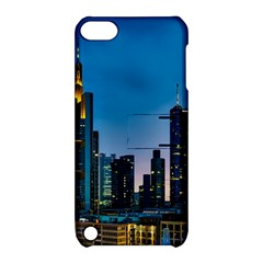 Frankfurt Germany Panorama City Apple Ipod Touch 5 Hardshell Case With Stand