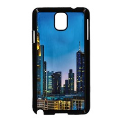 Frankfurt Germany Panorama City Samsung Galaxy Note 3 Neo Hardshell Case (black)