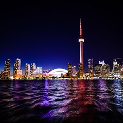Toronto City Cn Tower Skydome Magic Photo Cubes