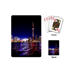 Toronto City Cn Tower Skydome Playing Cards (mini)