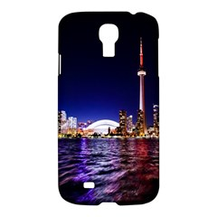 Toronto City Cn Tower Skydome Samsung Galaxy S4 I9500/i9505 Hardshell Case
