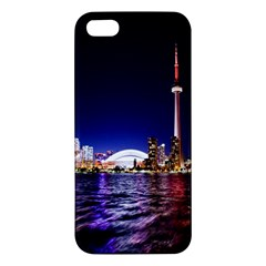 Toronto City Cn Tower Skydome Iphone 5s/ Se Premium Hardshell Case
