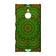 Wonderful Mandala Of Green And Golden Love Nokia Lumia 1520