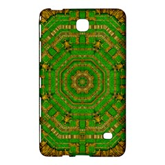 Wonderful Mandala Of Green And Golden Love Samsung Galaxy Tab 4 (8 ) Hardshell Case