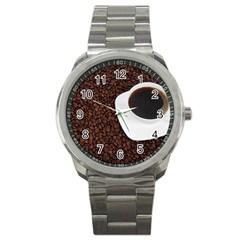 Coffee Sport Metal Watch by goodart