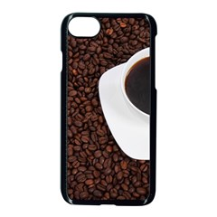 Coffee Apple Iphone 7 Seamless Case (black)