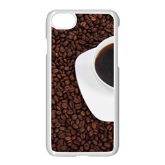 Coffee Apple Iphone 7 Seamless Case (white)