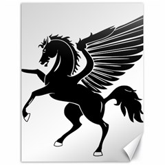 Peo Pegasus Black  Canvas 18  X 24