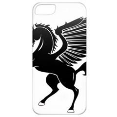 Peo Pegasus Black  Apple Iphone 5 Classic Hardshell Case