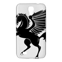 Peo Pegasus Black  Samsung Galaxy Mega 6 3  I9200 Hardshell Case