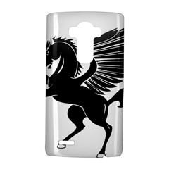 Peo Pegasus Black  Lg G4 Hardshell Case
