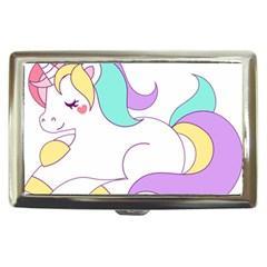 Pastel Unicorn Vector Clipart Cigarette Money Cases