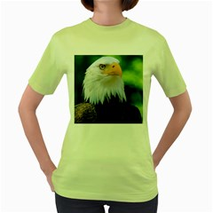 Bald Eagle Women s Green T Shirt