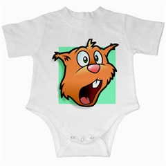 Surprised Chipmunk Face Vector Art Infant Creepers