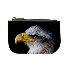 Bald Eagle Portrait  Mini Coin Purses