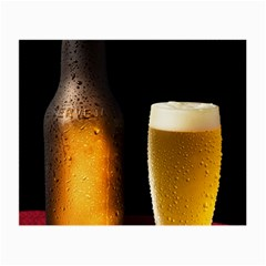 Cold Beer Small Glasses Cloth