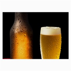 Cold Beer Large Glasses Cloth
