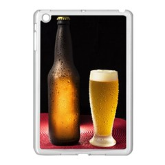 Cold Beer Apple Ipad Mini Case (white)