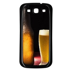 Cold Beer Samsung Galaxy S3 Back Case (black)