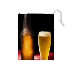 Cold Beer Drawstring Pouches (medium)