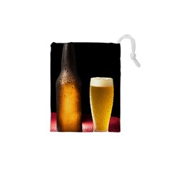 Cold Beer Drawstring Pouches (xs)