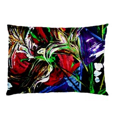 Lillies In Terracota Vase Pillow Case