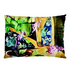 Lilac On A Countertop Pillow Case (two Sides)