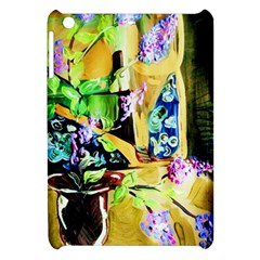 Lilac On A Countertop Apple Ipad Mini Hardshell Case