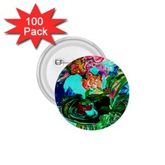 Flowers On The Tea Table 1 75  Buttons (100 Pack)