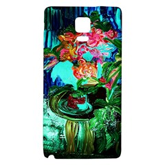Flowers On The Tea Table Galaxy Note 4 Back Case