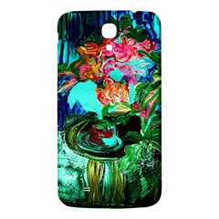 Flowers On The Tea Table Samsung Galaxy Mega I9200 Hardshell Back Case by bestdesignintheworld
