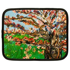 Coral Tree Netbook Case (xl)