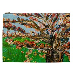 Coral Tree Cosmetic Bag (xxl)