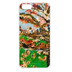 Coral Tree Apple Iphone 5 Seamless Case (white)