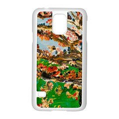 Coral Tree Samsung Galaxy S5 Case (white)