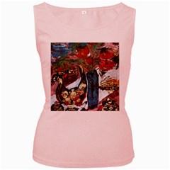 Chochloma Women s Pink Tank Top