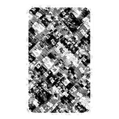 Black And White Patchwork Pattern Memory Card Reader