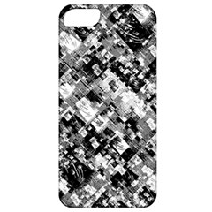 Black And White Patchwork Pattern Apple Iphone 5 Classic Hardshell Case