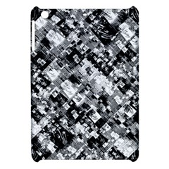 Black And White Patchwork Pattern Apple Ipad Mini Hardshell Case