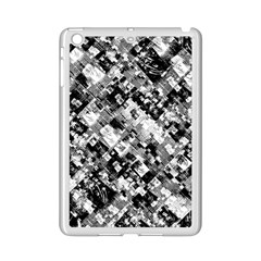 Black And White Patchwork Pattern Ipad Mini 2 Enamel Coated Cases