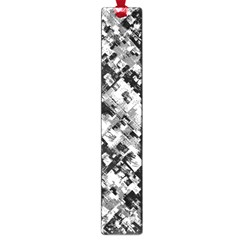 Black And White Patchwork Pattern Large Book Marks