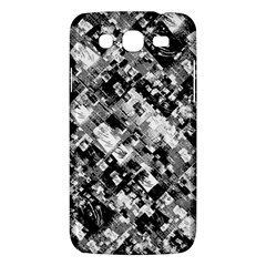 Black And White Patchwork Pattern Samsung Galaxy Mega 5 8 I9152 Hardshell Case  by dflcprints