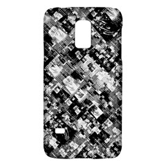 Black And White Patchwork Pattern Galaxy S5 Mini