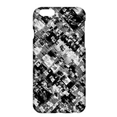 Black And White Patchwork Pattern Apple Iphone 6 Plus/6s Plus Hardshell Case by dflcprints