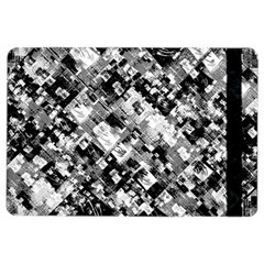 Black And White Patchwork Pattern Ipad Air 2 Flip