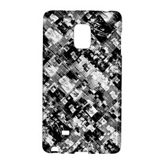 Black And White Patchwork Pattern Galaxy Note Edge