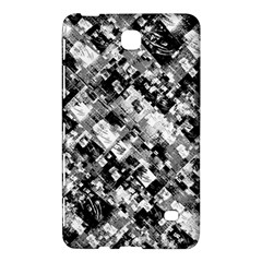 Black And White Patchwork Pattern Samsung Galaxy Tab 4 (8 ) Hardshell Case