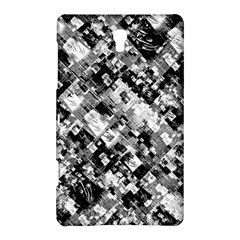 Black And White Patchwork Pattern Samsung Galaxy Tab S (8 4 ) Hardshell Case