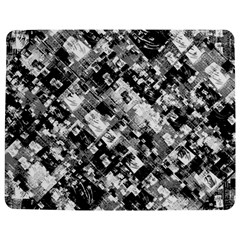 Black And White Patchwork Pattern Jigsaw Puzzle Photo Stand (rectangular)